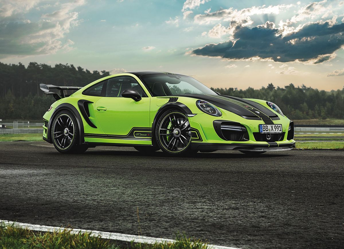 Techart presenta el Techart GTstreetR